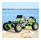 Demoyu RC Car Wltoys 12428 4WD 1/12 2.4G 50km / h Monster Monster Truck Control Radio RC Buggy Off-Road RTR Versión actualizada VS A979-B (Color : 12428)