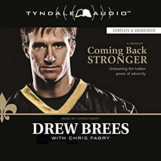Coming Back Stronger audiobook cover art