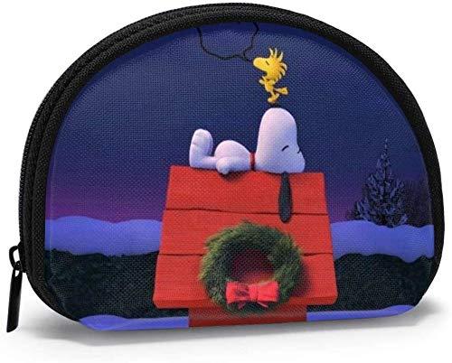 Bernice Winifred Ch-ristmas-Cartoon Snoopy Monedero para...