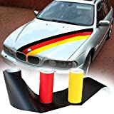 WM EM Deutschland Auto PKW Aufkleber Viper Streifen Fan Meile Fahne Flagge