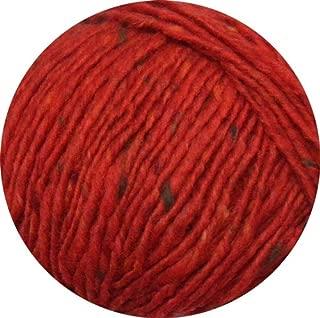 Debbie Bliss Luxury Tweed Aran Yarn 33 Scarlet