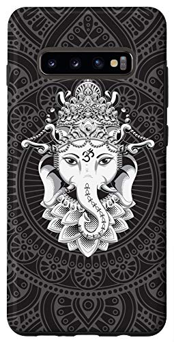 Galaxy S10+ Hindu Ganesh Elephant Yoga Case
