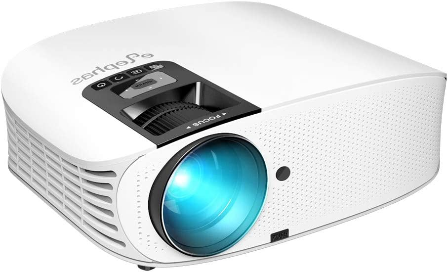 Projector, ELEPHAS [2018 Upgraded Version] 720P 200