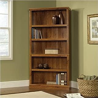 Bowery Hill 5 Shelf Bookcase in Abbey Oak