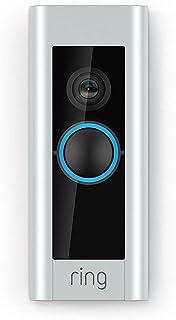 Ring Video Doorbell Pro | Kit de timbre y transformador HD 1080p comunicación bidireccional Wi-Fi detección de movimiento