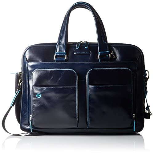 Piquadro CA2765B2 Borsa, Collezione Blu Square, Blu