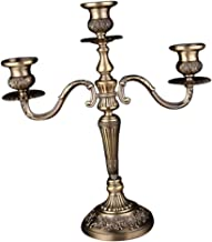 MagiDeal European Style Design Metal Candle Holders with 3 Or 5 Sconces Candlesticks for Home,Wedding,Hotel Restaurant,Spe...
