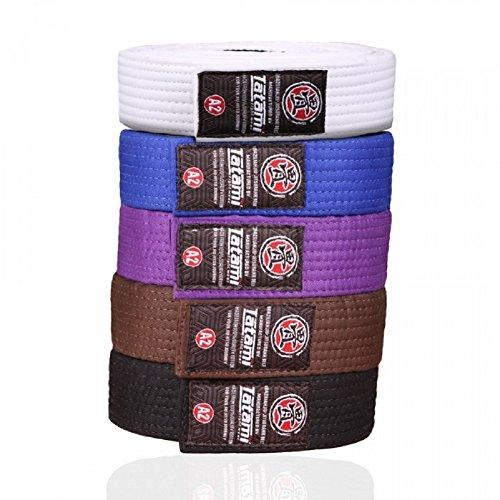 Tatami Fightwear - Cinturón de jiu Jitsu brasileño para Adulto, tamaño A2, Color Azul