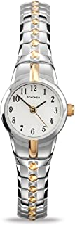 Women's Quartz Watch with White Dial Analogue Display and Multi-Colour Stainless Steel Bracelet 4091.27