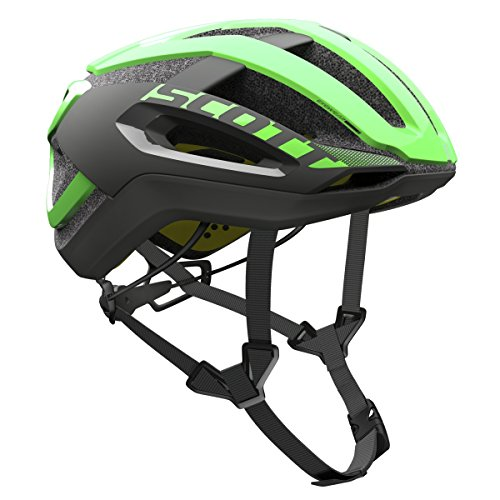 Scott Centric Plus bicicleta casco verde/negro 2017, hombre, green flash/black