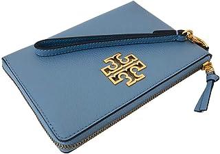 Tory Burch Women's Britten Large Zip Pouch Wallet Wristlet