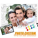 GJJHRA Personalizados para Pintar por números Kits para Adultos, Pintura Digital para Niños,Pintura Al Óleo DIY Kit para Principiantes - 40x50cm(Sin Marco)