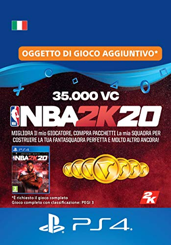 NBA 2K20 - 35,000 VC [Codice download per PSN - Account italiano]