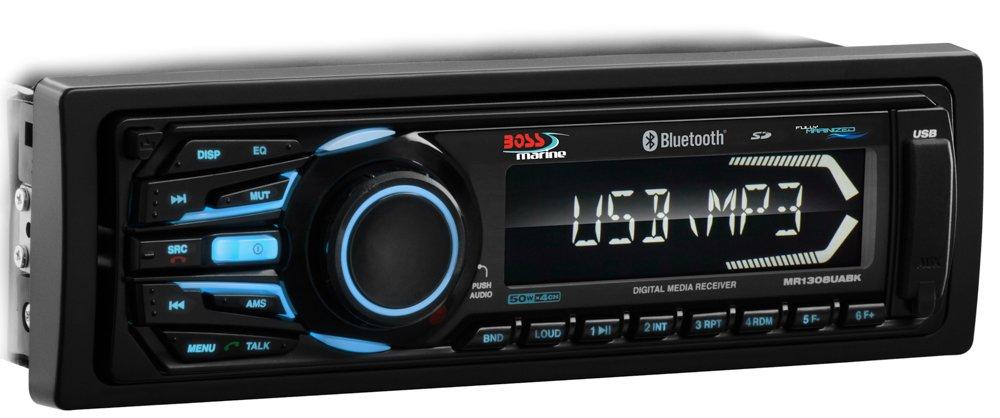 BOSS Audio MR1308UABK Weather Proof Detachable