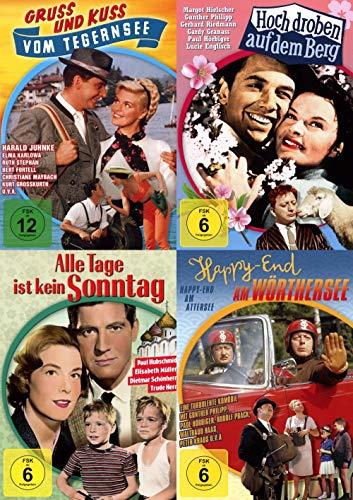 Deutsche Heimat- und Musikfilme Collection - Gruß und Kuss vom Tegernsee + Hoch droben auf dem Berg + Alle Tage ist kein Sonnta