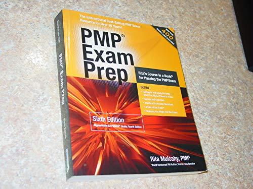 PMP Exam Prep (6th, 09) by Mulcahy, Rita [Perfect...