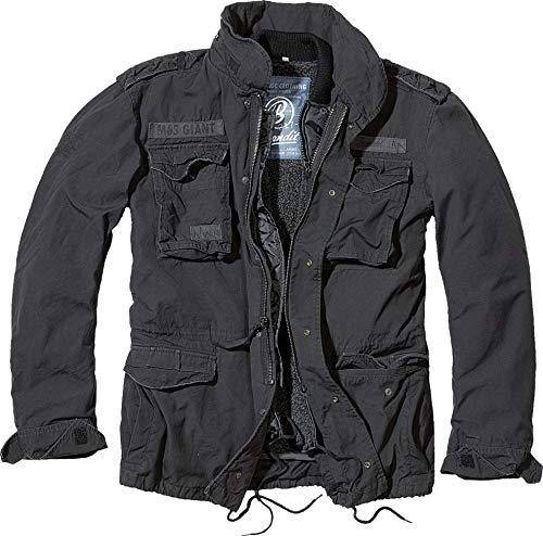 Brandit M65 Giant Jacke Schwarz L