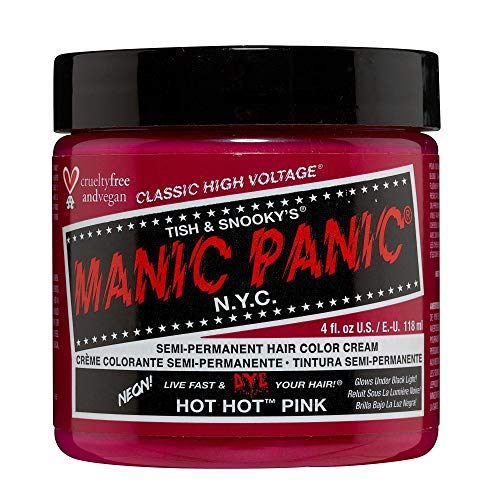 Manic Panic High Voltage Classic Coloration Semi-Permanente 118ml (Hot Hot Pink)