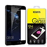 Khaos for Huawei P10 [3D Curved ] [Full Screen Coverage ] HD Clear Tempered Glass Screen Protector with Lifetime Replacement Warranty -Black
