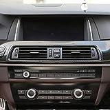 Carbon Fiber Style ABS Konsolen-Klimagerät Blende für 5er-Serie F10 2014–2017