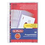 Herlitz 5850508 Prospekthülle Premium, A4...