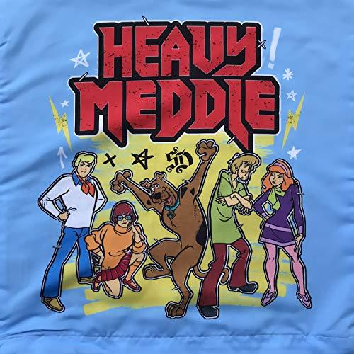 Scooby-Doo Heavy Meddle kussensloop 40x40cm Sofakussensloop Lichtblauw