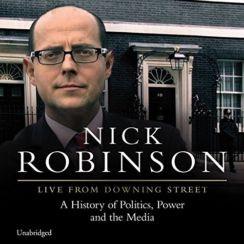 Live from Downing Street audiobook cover art