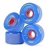 JUCKER HAWAII Longboard Rollen/Wheels STREETBALLS - SUPER Balls...