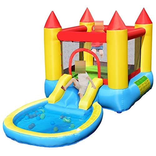 Royal Star TY Inflable casa de la Despedida de Diapositivas niños Saltando Castillo Bouncer Bolas wiht Piscina y Bolsa