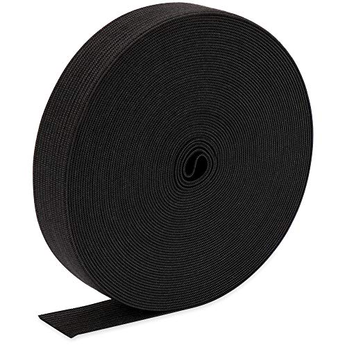 H&S Elastic 10 Meters Black Flat Waistband Sewing Elastic Ribbon Bands Sewing Craft Accessories