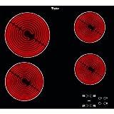 Whirlpool AKT 8090/NE plaque - plaques (Intégré, Céramique, verre-céramique, Noir, toucher, En...