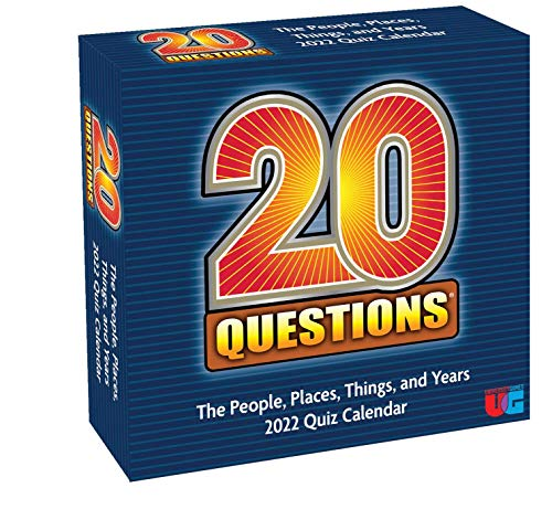 20 Questions 2022 Day-to-Day Calendar: The People, Places, Things, and Years Quiz Calendar