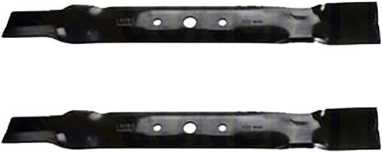 2 Lawn Mower Blades For John Deere 42 Inch Deck L100 L105 Replaces B1JD6015