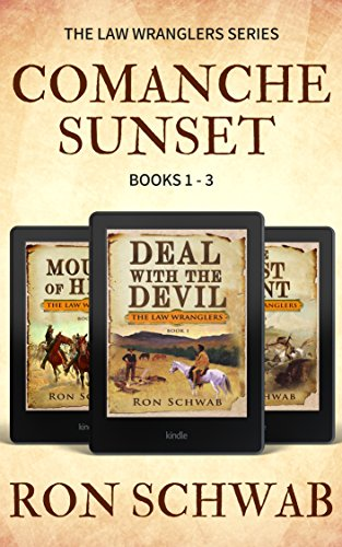 Comanche Sunset: Western Box Set (The Law Wranglers, Books 1-3) (English Edition)