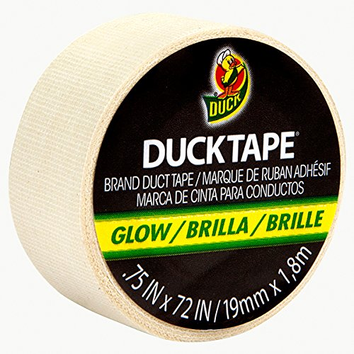 Duck MDT-1786 Brand Glow-in-The-Dark Gaffers Tape: 3/4' x 6', Luminescent Lime Green