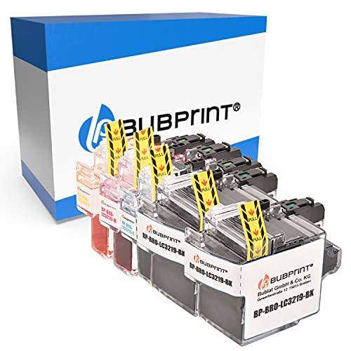 Bubprint Kompatibel Druckerpatronen als Ersatz für Brother LC-3219XL für MFC-J5330DW MFC-J5335DW MFC-J5730DW MFC-J5930DW MFC-J6530DW MFC-J6535DW MFC-J6930DW MFC-J6935DW 5er-Pack