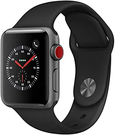 Apple Watch Series 3 38mm Space Gray Aluminum Case with...
