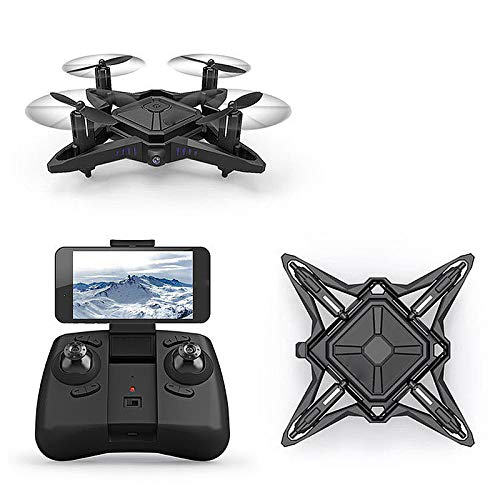 YZXZM Mini Folding Unmanned Aerial Vehicle Four-Axis Aircraft Portable High Hold Mode Foldable Arm RC Quadcopter Drone