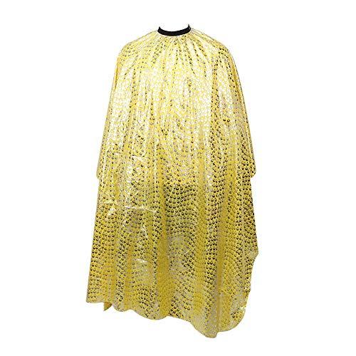 Kapperjurk Cape, gladde stof Haarverven Verven Cape Schort Gemakkelijk schoon te maken en snel te drogen, Geschikt voor thuis- en salongebruik
