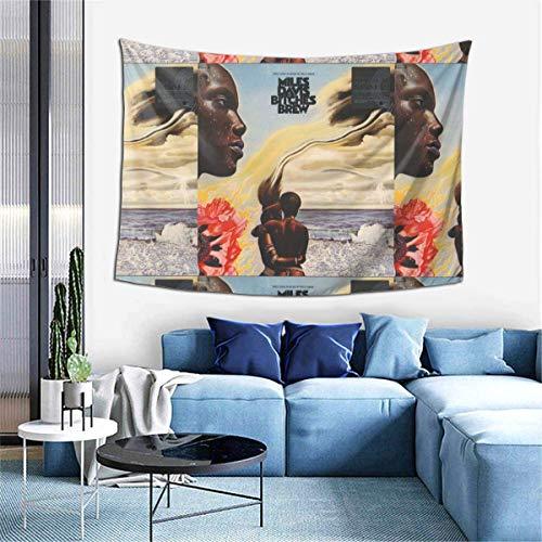 huatongxin Tapiz Decorativo para Colgar en la Pared, Perras Miles Davis, Tapiz Decorativo de 60x40 Pulgadas para Sala de Estar, Dormitorio, Dormitorio