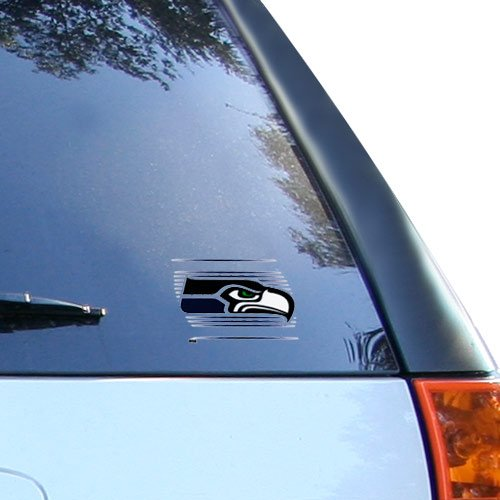 WinCraft NFL Seattle Seahawks Static Cling Decal, 3