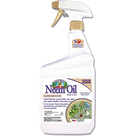 BONIDE PRODUCTS INC Bonide 022 Ready-to-Use Neem Oil, 32-Ounce, 1 Qt
