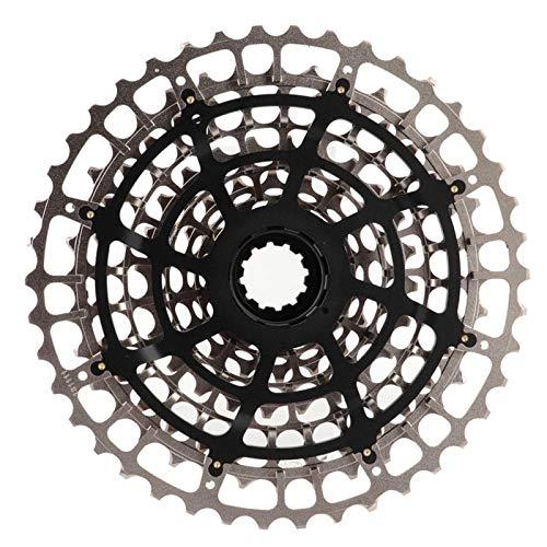 DAUERHAFT Hohe Haltbarkeit Exquisite Verarbeitung Fahrrad Freilauf Kassette Kettenrad 11-Gang 42T Fahrrad Ersatzteil, für Rennrad(10-42T)