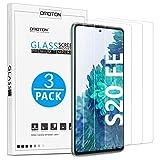OMOTON [3 Stück] Panzerglas Schutzfolie für Samsung Galaxy S20 FE/ S20 FE 5G [Anti- Kratzer], [Bläschenfrei], [9H Festigkeit], [HD-Klar]