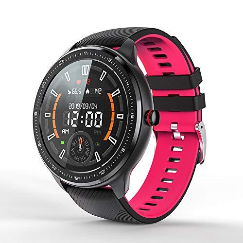 MOTOK Smartwatch, Reloj Inteligente IP67 Impermeable Pulsera Actividad Inteligente con Pulsómetro, Monitor Podómetro