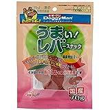 ドギーマン 犬用おやつ うまい!レバースナック チーズ入り チキン 70g×6個 (まとめ買い)
