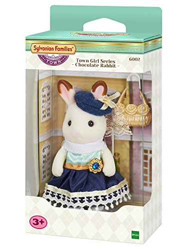 Sylvanian Families 6002 chocoladehase: Stella lepel, New Town Series