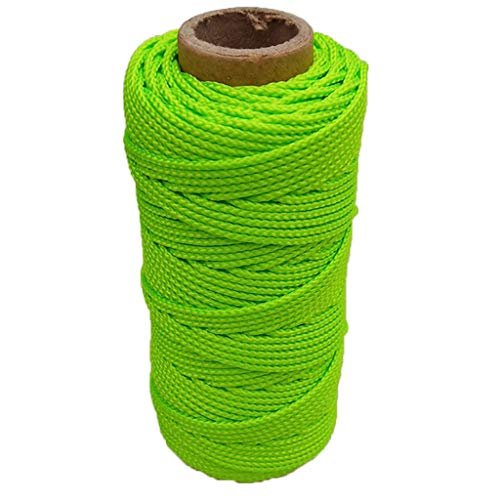 Scuba Diving Reel Line Replacement, High Strength Polyester Rope for Safety Dive Marker, Dive Float Flag - Select Size - 46m