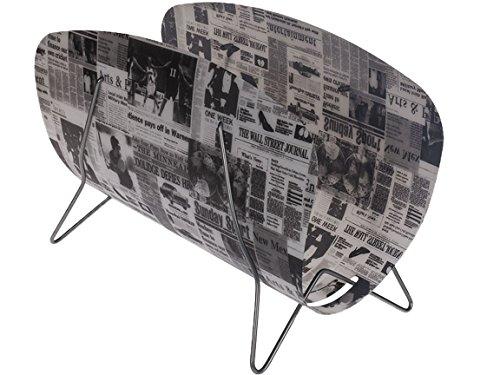 Bada Bing Zeitungsständer Zeitschriften Aufbewahrung NEWSPAPER Zeitung Design Deko 50