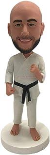 Karate Bobblehead personalizzato Karate Figurine personalizzate Karate Birthday Cake Topper Regali di karate Regalo del pa...